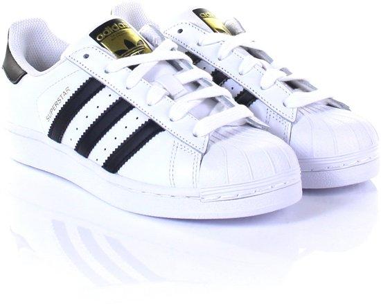 adidas SUPERSTAR FOUNDATION J C77154 - schoenen-sneakers - Vrouwen -  wit/zwart -