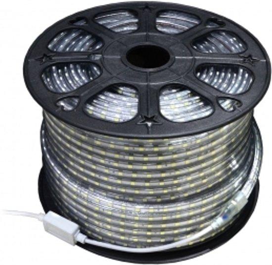 bol.com | LED strip - 100 meter - 220V - koud wit - 3528 SMD - 60L/M ...