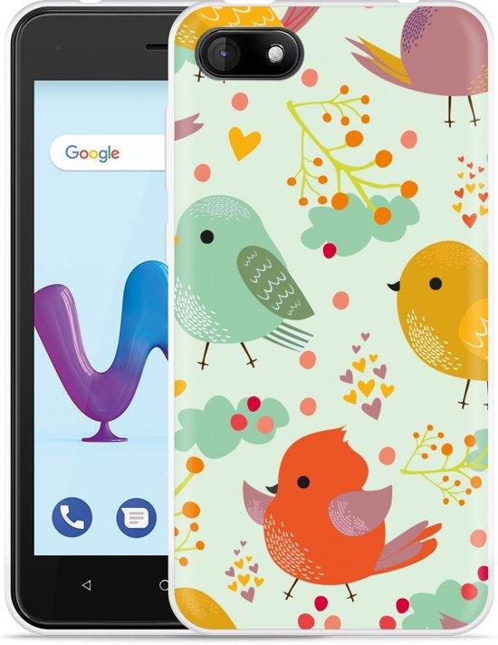 Wiko Sunny 3 Hoesje Cute Birds