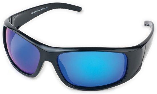 234da74ceebfc7 Polariserende Zonnebril BluePower Blauw Zwart Spiegelglas – Bootbril  Spiegelglazen Sportzonnebril Sport Vis Boot Fiets Fietsbril Visbril