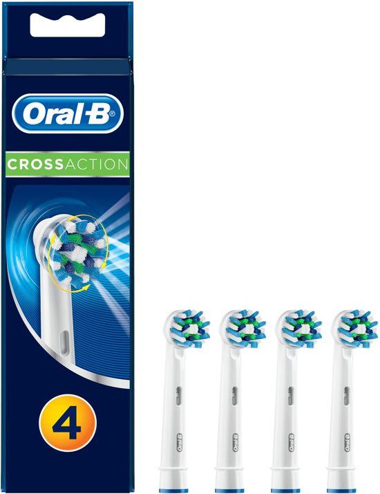 Oral-B Cross Action Opzetborstels - 3+1 Stuks