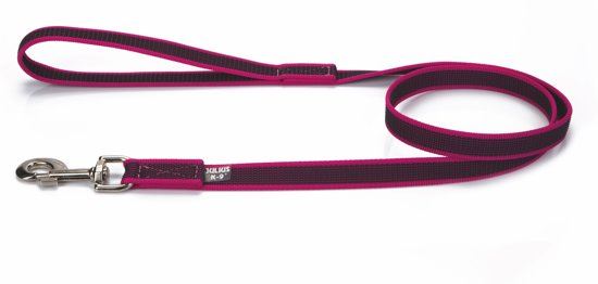 Julius K9 - Anti Slip Hondenriem Roze 1,2M 20mm (20Mm)