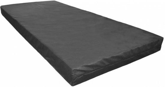 Bed4less Matras 90x190cm Black Foam Basic ca. 13cm