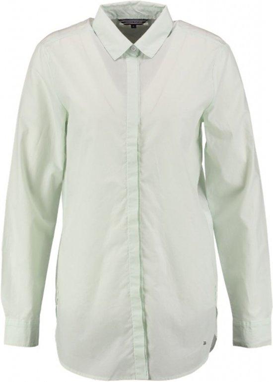 Tommy hilfiger langere blouse aqua foam - Maat S
