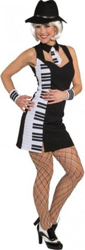 Piano feestjurkje voor dames 40 (l)