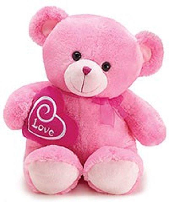 Valentijn roze beer