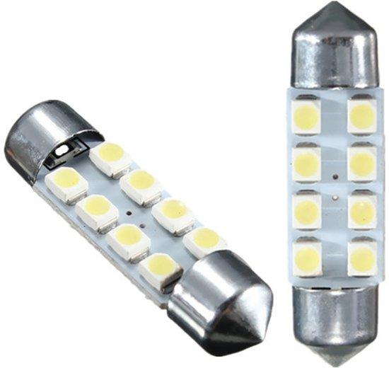 bol.com | 2 stuks 36mm Caravan / interieur verlichting 8 LED