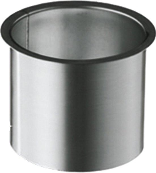 Zinken tapeind 80 mm vlak lengte 20 cm