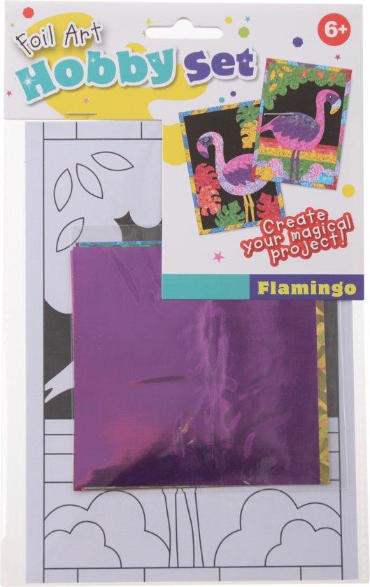 Free And Easy Creatief Met Folie 12-delig Flamingo