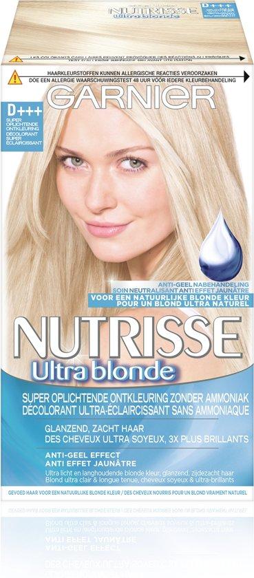 Garnier Nutrisse Truly Blond D+++ - Super Oplichtende Ontkleuring - Haarverf
