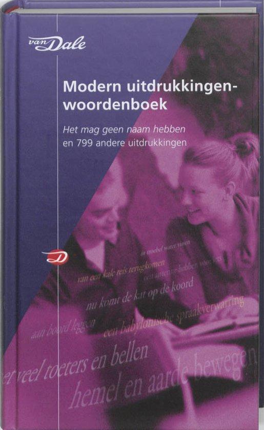 Van Dale Modern Uitdrukkingenwoordenboek