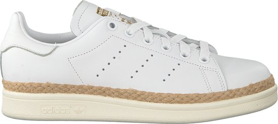 Adidas Dames Sneakers Stan Smith Bold - Wit - Maat 40⅔