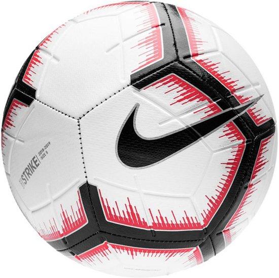 6458467835e bol.com | Nike Strike voetbal kinderen- wit/zwart/rood - maat 5