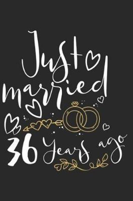 Just Married 36 Years Ago