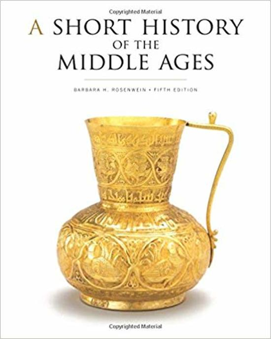 Boek cover A Short History of the Middle Ages, Fifth Edition van Barbara H. Rosenwein (Paperback)
