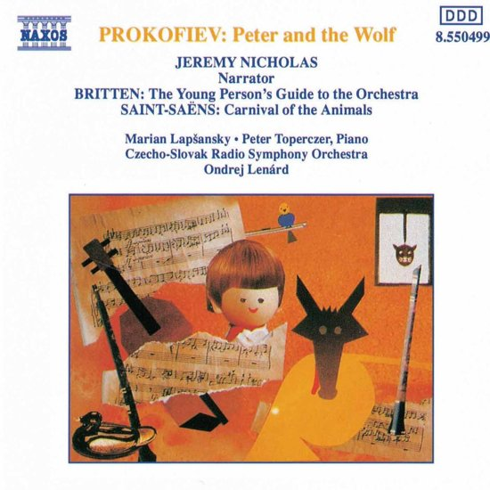 Prokofiev: Peter and the Wolf, etc / Lenard, CSRSO