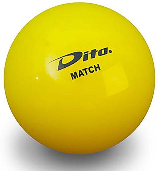 Dita Match Hockeybal - Ballen  - geel - One size