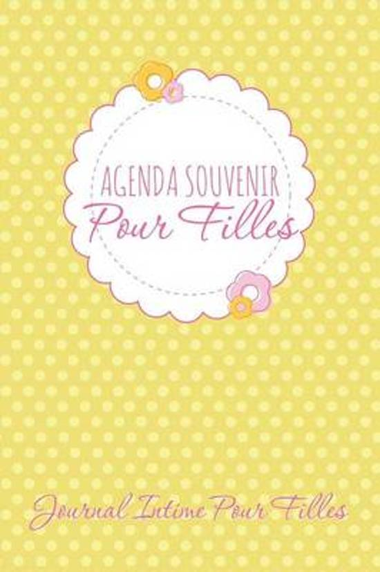Agenda Souvenir Pour Filles Journal Intime Pour Filles