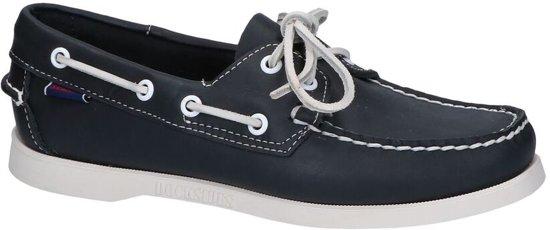 Donkerblauwe Bootschoenen Sebago Dockside