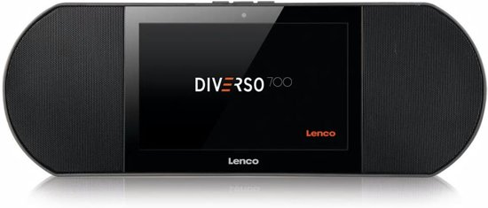 Lenco Internetradio met Smart Media Centre Diverso-700GY zwart