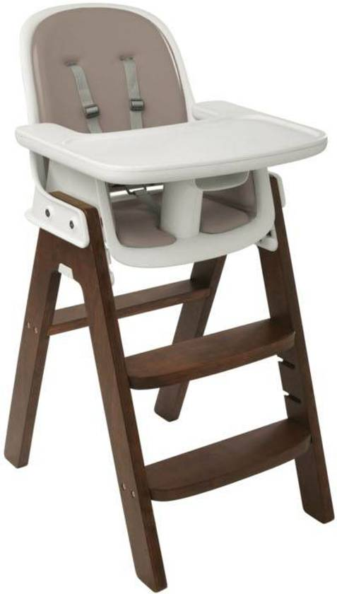 OXO Tot Sprout kinderstoel Taupe Walnut