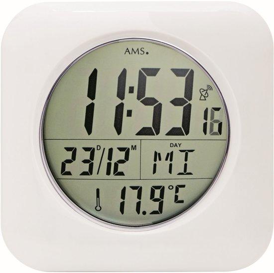 bol.com | AMS Badkamer-klok Radio-controlled Digitaal 5930