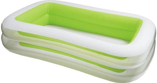 Intex Opblaaszwembad Family Swim Center Groen 262 X 175 X 56 Cm