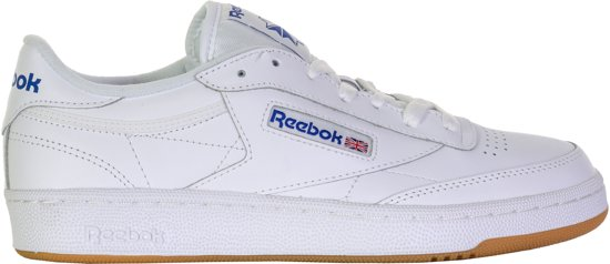 Reebok Heren 85 white royal C Int Sneakers Club 43 Maat gum PxIrP4