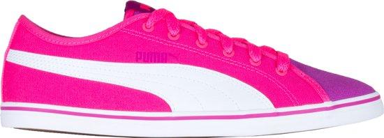 f4f824ad136 bol.com | Puma Sneakers - Maat 36 - Unisex - roze/wit/paars