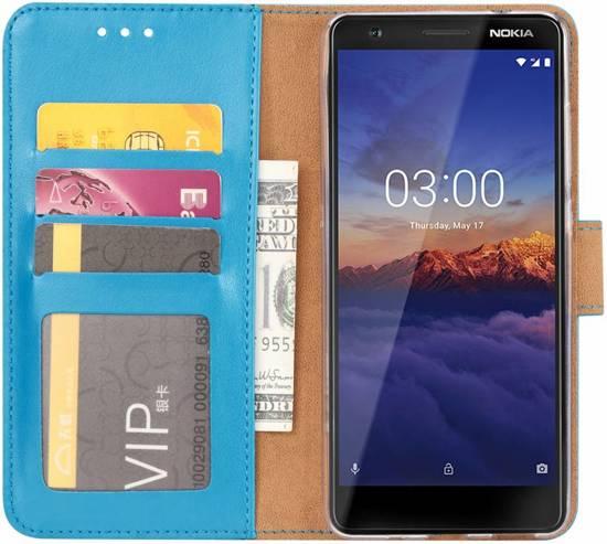 Nokia 2.2 - Bookcase Turquoise - portemonee hoesje