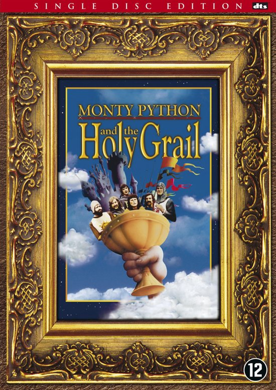 DVD cover van Monty Python and The Holy Grail
