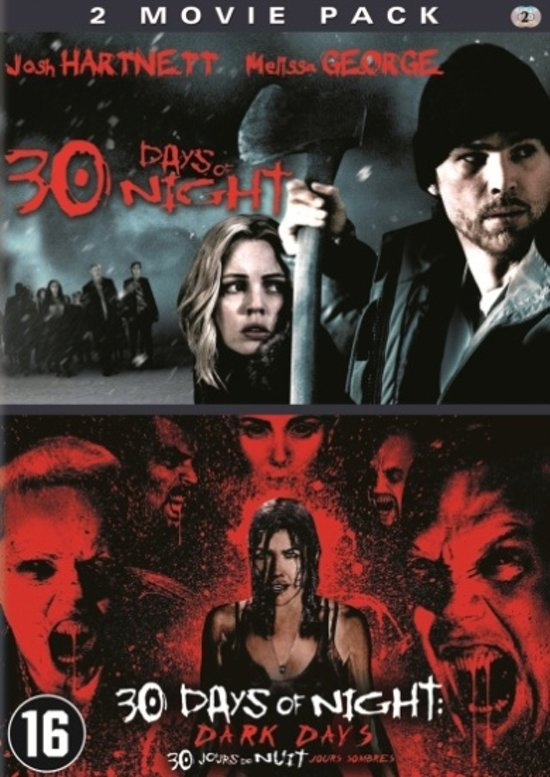 DVD cover van 30 Days Of Night 1 & 2