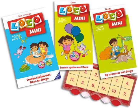 Boek cover Loco Mini / Samen spelen met Dora en Diego van Noordhoff Uitgevers (Onbekend)