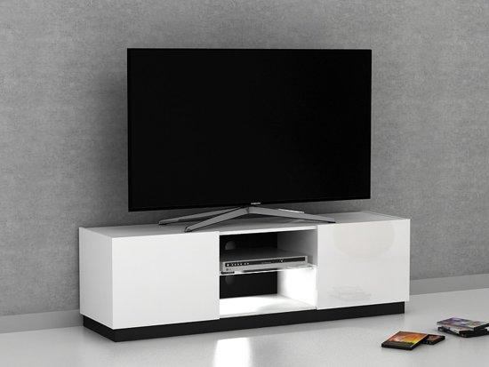 Bol.com tv meubel solis witte hoogglans 150 cm