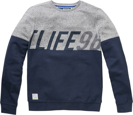 Sweater Met Tekstprint Men Twinlife Twinlife Men R8qtP