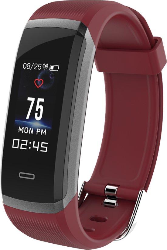 Sport horloge - Smart watch -  HR3 rood - Stappenteller - hartslagmeter - Ideaal voor fietsen , hardlopen, wandelen