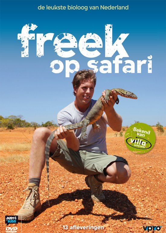 bol com freek op safari (dvd) dvd\u0027sfreek op safari