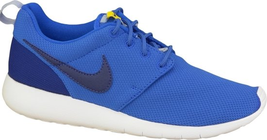 wholesale dealer 90210 993ff Nike Roshe One (GS) Sneakers Junior Sportschoenen - Maat 38.5 - Unisex -  blauw