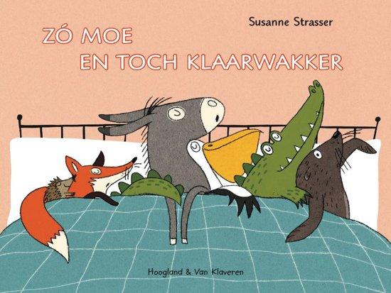 Boek cover Zo moe en toch klaarwakker van Susanne Strasser (Hardcover)
