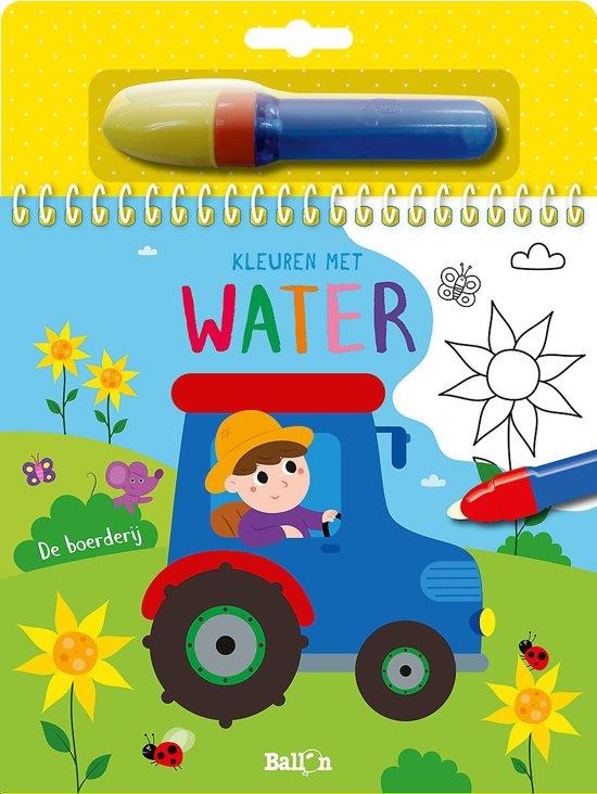Kleuren met water: de Boerderij