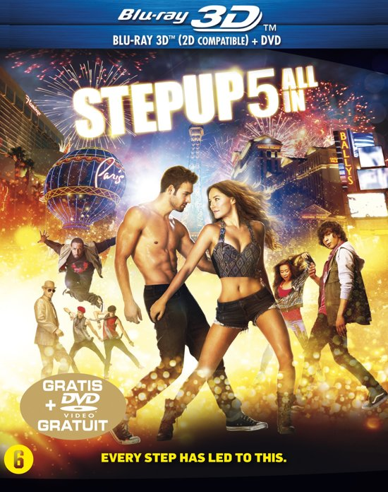 DVD cover van Step Up 5: All In (Blu-Ray 3D/2D + DVD)