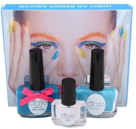 Foto van Ciaté corrupted neon manicure blue Nail Art kit