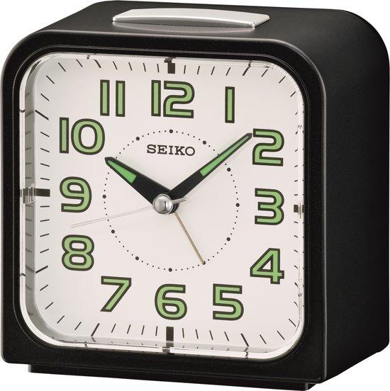 Seiko wekker - QHK025J - elektronische bel - Zwart