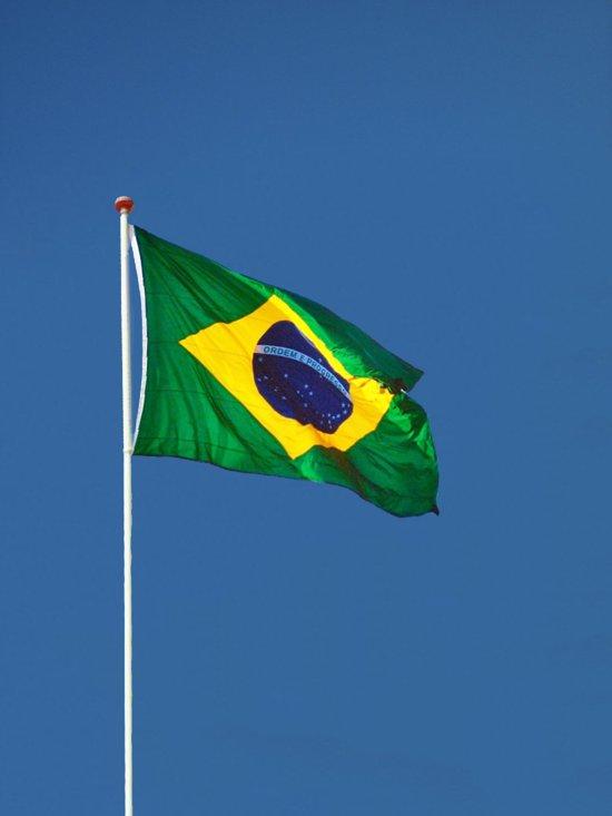 bol | braziliaanse vlag (brazilië vlag) - 90x150cm