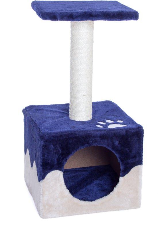 Krabpaal Blue Smile (H 60 x L 30 x B 30 cm)