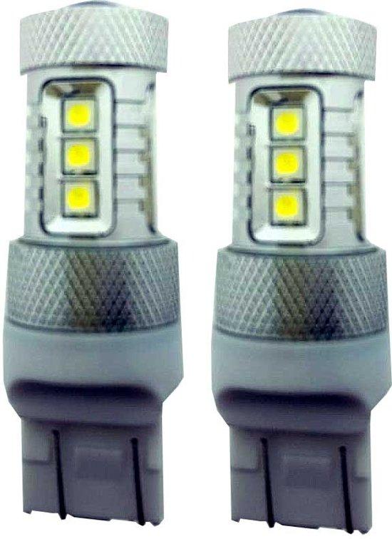 bol.com | Canbus LED dagrijverlichting T20 - W21/5w geschikt voor ...