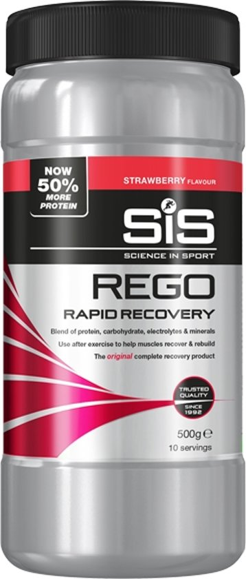 SIS Rego Rapid Recovery Strawberry 500g