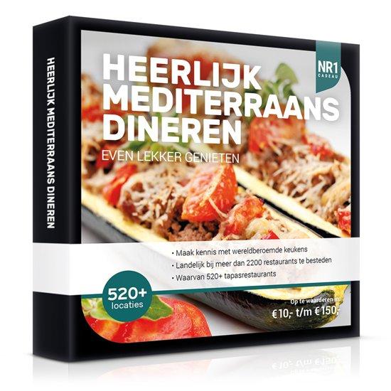 Nr1 Heerlijk Mediterraans Dineren 15,-