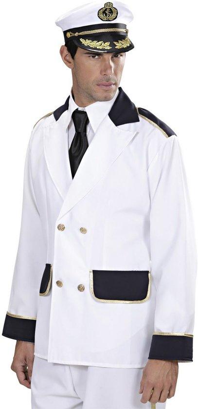 Kapitein & Matroos & Zeeman Kostuum | Kapiteinsjas Man | Small | Carnaval kostuum | Verkleedkleding