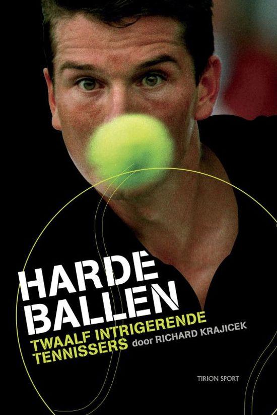 Cover van het boek 'Harde ballen' van Richard Krajicek